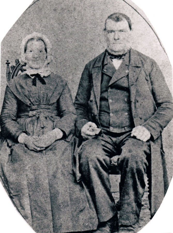 Jane's parents, Birte Marie and Ludvig Berentsen (1800 -?)