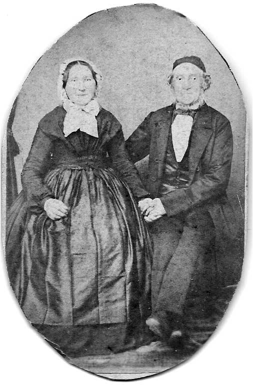 Christen Albert Birkholm and wife