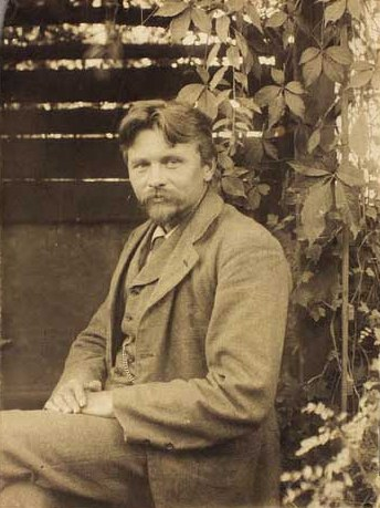 "Jens Birkholm, the ""Poverty Artist"". Public Domain, Wikimedia Commons"