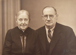 Karen and Christian Birkholm in later years