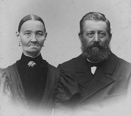Maren (Sodberg) and Peder Poulsen
